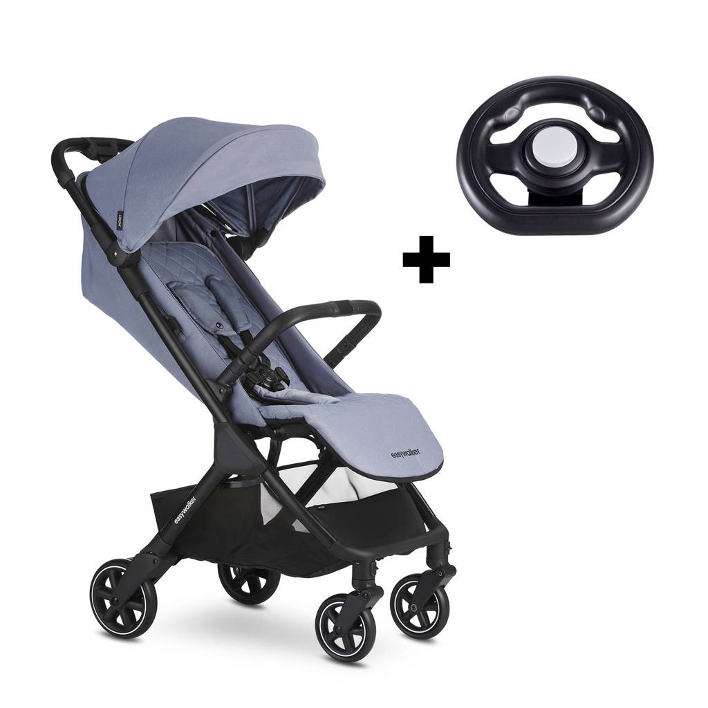 Easywalker Jackey touch-and-go buggy Steel Grey, Steel grey