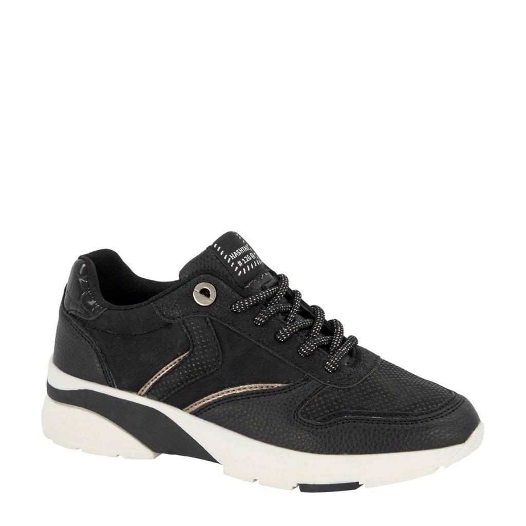 Graceland   sneakers zwart, Zwart
