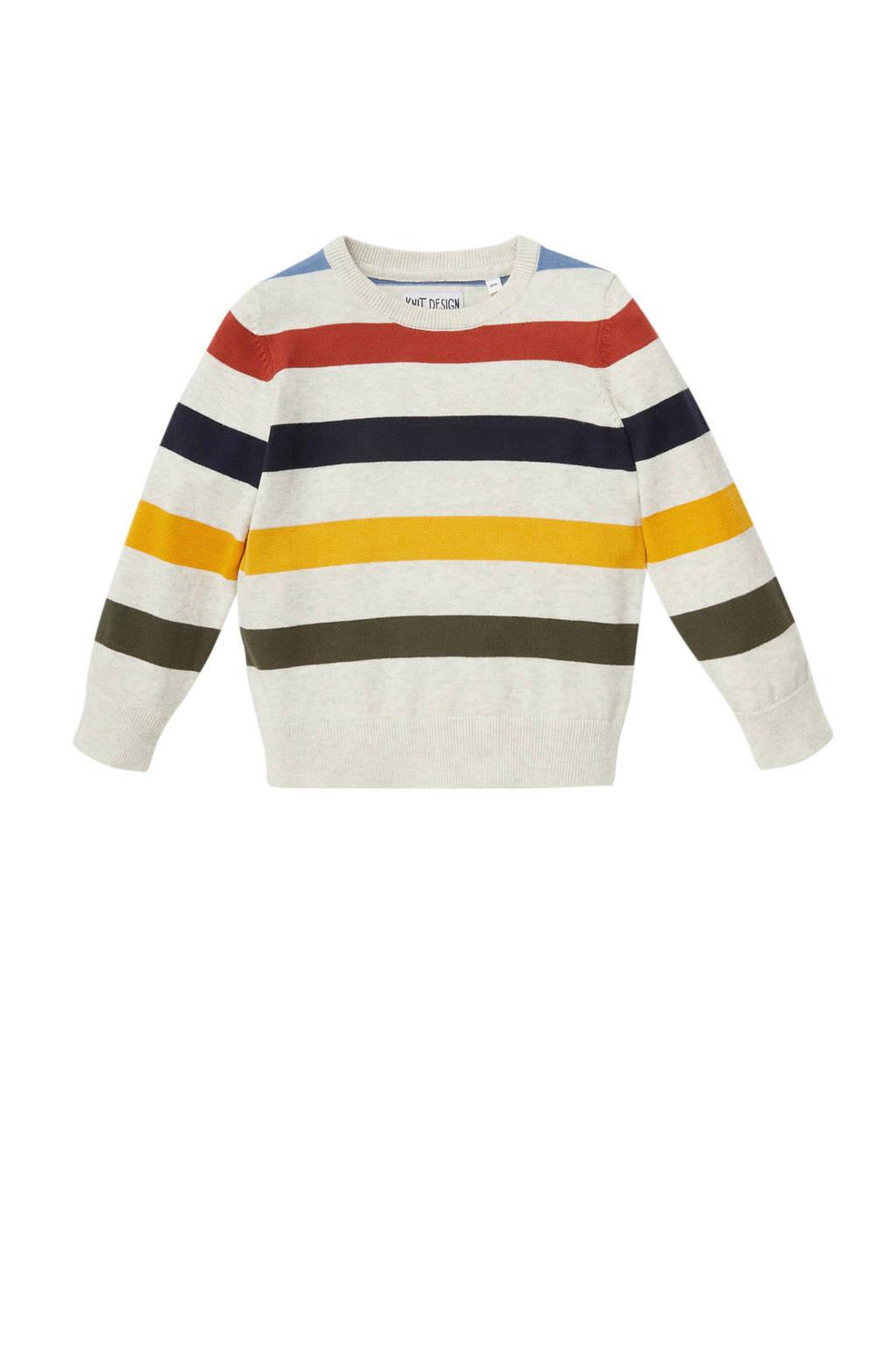 C&A gestreepte trui multicolor, Multicolor