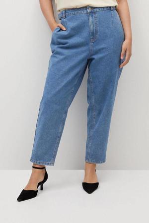 push-up mom jeans blauw