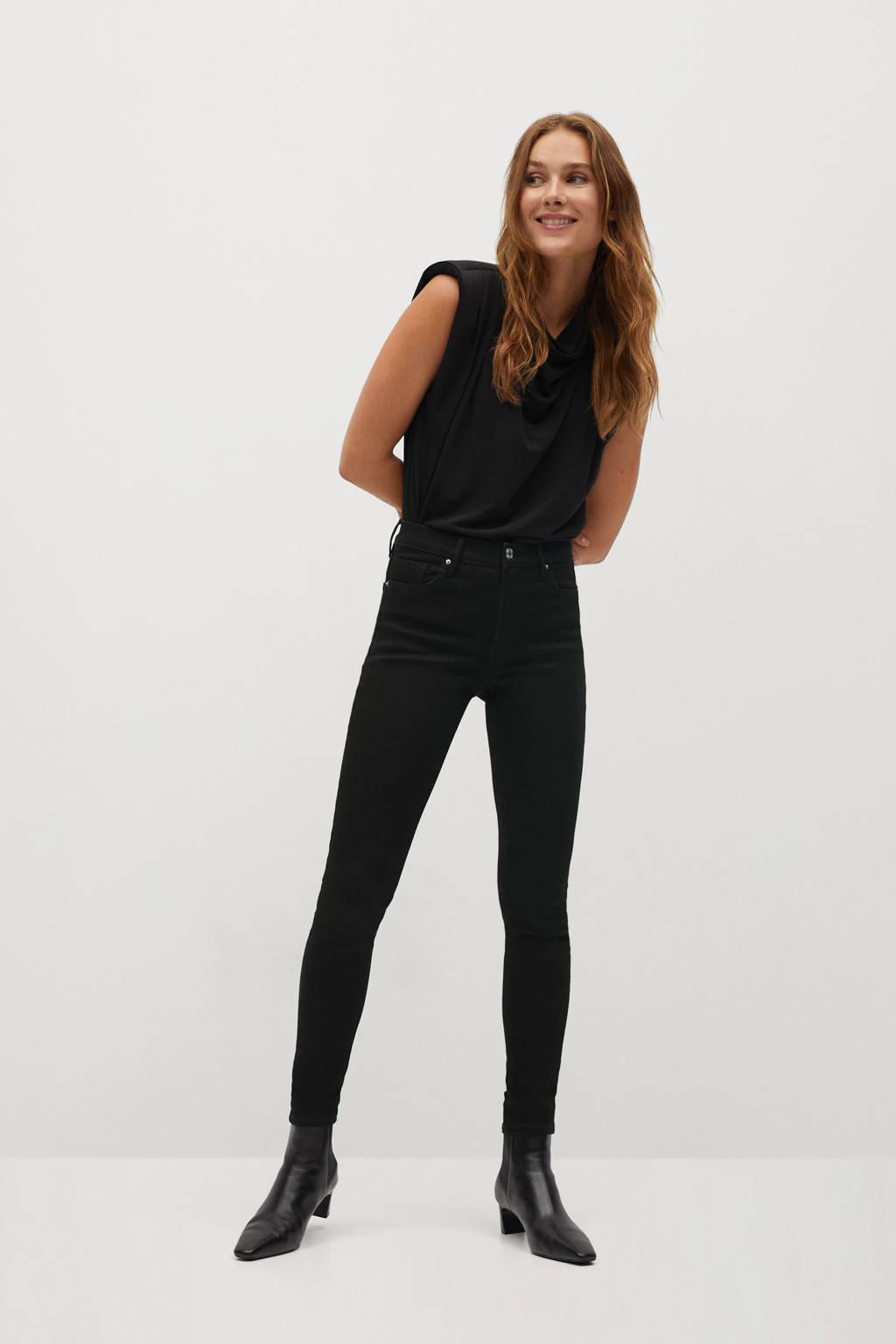 Mango skinny jeans zwart, Zwart