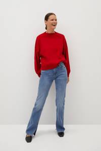 Mango gebreide trui rood, Rood