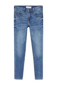 Mango Kids skinny jeans middenblauw