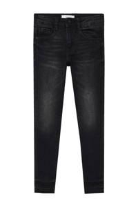 Mango Kids skinny jeans donkergrijs, Donkergrijs