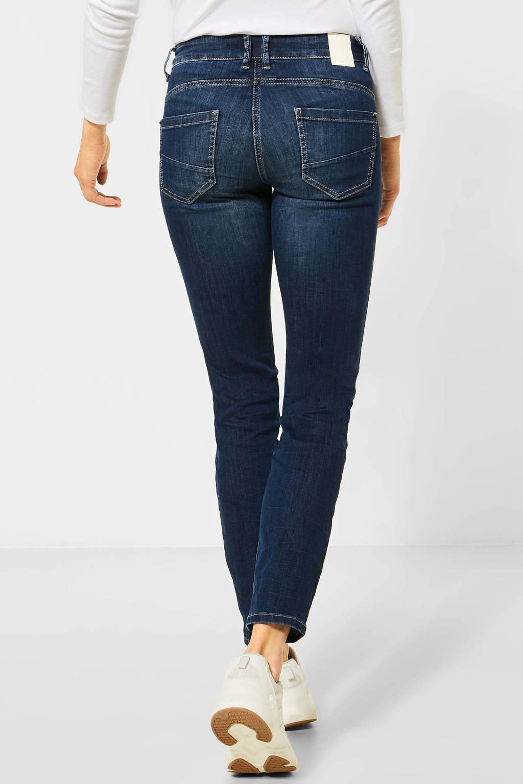 CECIL skinny jeans Charlize dark denim stonewashed, Dark denim stonewashed