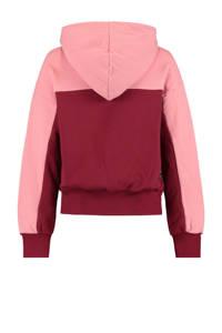 CoolCat Junior hoodie Sari oudroze/roze, Oudroze/roze