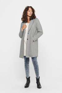 ONLY coat Carrie grijs, Grijs