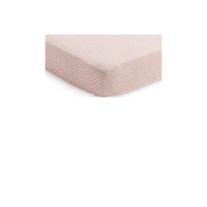 jersey baby ledikant hoeslaken 60x120cm Snake pale pink