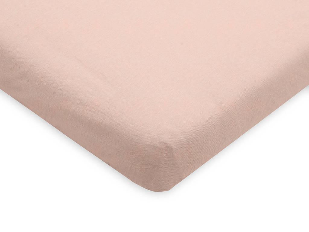 Jollein jersey wieg hoeslaken 40x80/90cm pink, Roze