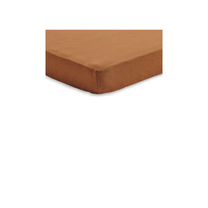 jersey wieg hoeslaken 40x80/90cm caramel