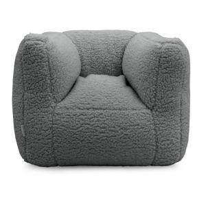fauteuiltje Beanbag grijs