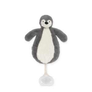 speendoekje Pinguin grey