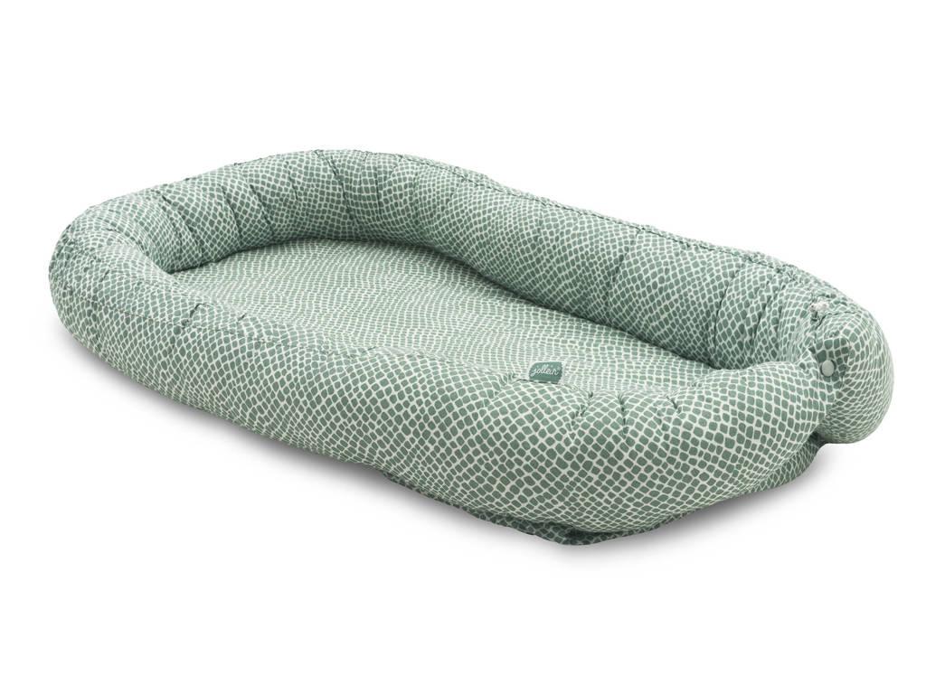 Jollein babynest Snake green, Groen