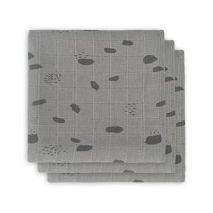 hydrofiel multidoek small 70x70cm - set van 3 Spot storm grey