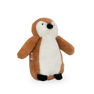 Pinguin caramel knuffel 23 cm