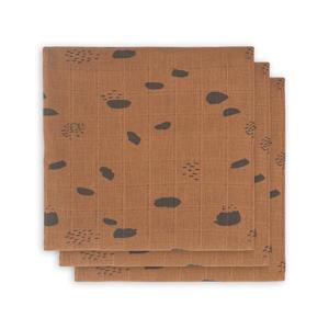 hydrofiel multidoek small 70x70cm - set van 3 Spot caramel