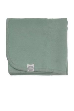 baby wieg deken 75x100cm green