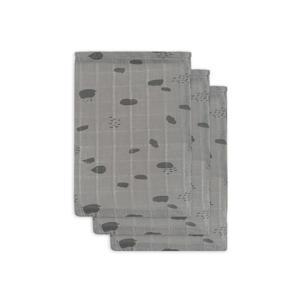 hydrofiel washandje hydrofiel - set van 3 Spot grey