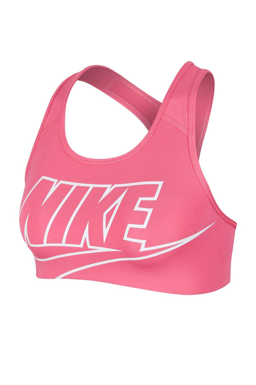 Nike level 2 sportbh roze, Roze