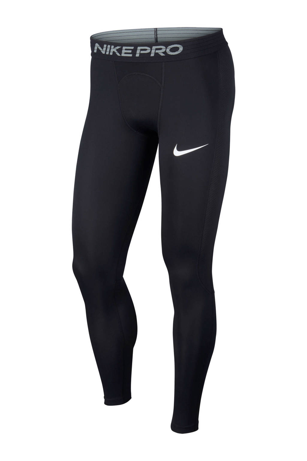 Nike   sporttight zwart, Zwart/wit