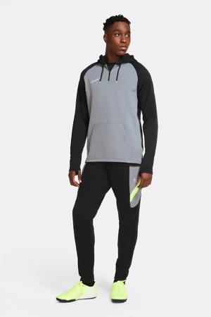 Senior  Voetbalbroek zwart/grijs/geel