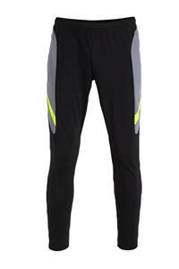Nike Senior  Voetbalbroek zwart/grijs/geel, Zwart/grijs/geel