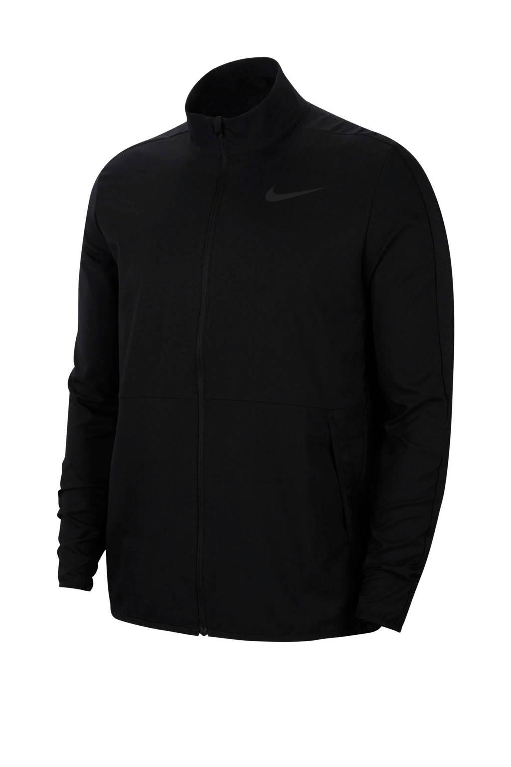 Nike   sportjack zwart, Zwart