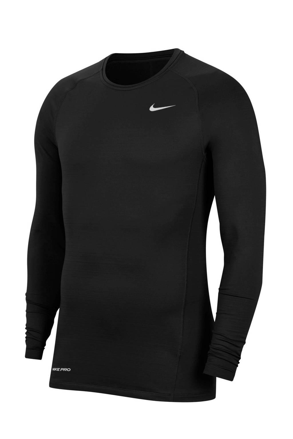 Nike   sportshirt zwart, Zwart