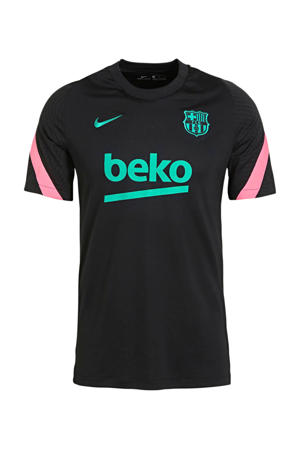 Senior FC Barcelona training T-shirt zwart