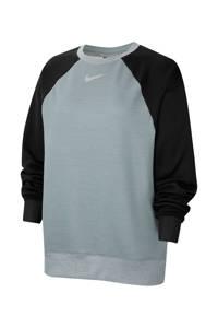 Nike sportshirt grijs/zwart, Grijs/zwart
