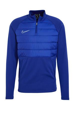Senior  voetbalsweater blauw