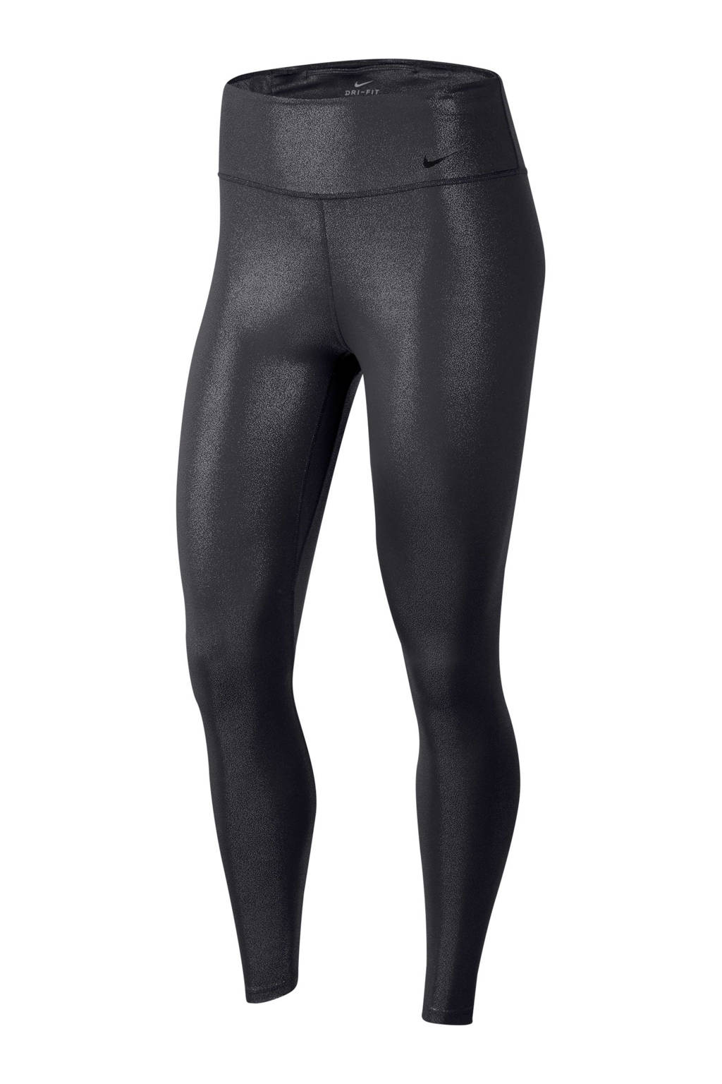 Nike 7/8 sportbroek zwart, Zwart