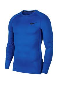 Nike   sportshirt blauw, Kobaltblauw/zwart