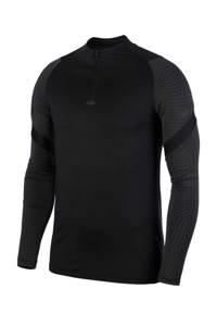 Nike Senior  Voetbalshirt zwart/grijs, Zwart/grijs
