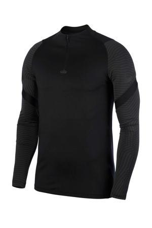 Senior  Voetbalshirt zwart/grijs