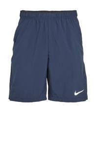 Nike   sportshort donkerblauw, Donkerblauw/wit