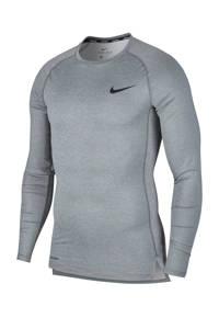 Nike   sportshirt grijs, grijs/lichtgrijs/zwart