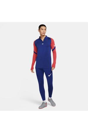 Senior  voetbalbroek blauw/rood