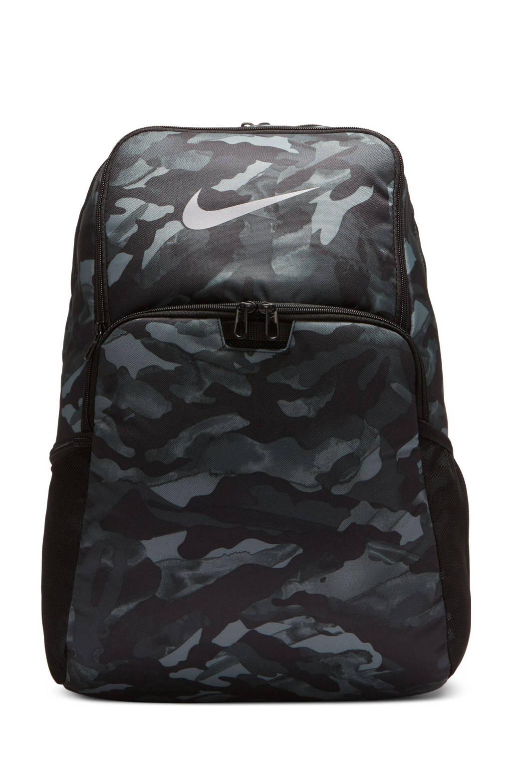 Nike   rugzak Brasilia XL zwart/grijs, Zwart/grijs
