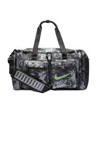 Nike   sporttas Utility M Duff grijs/zwart, Grijs/zwart