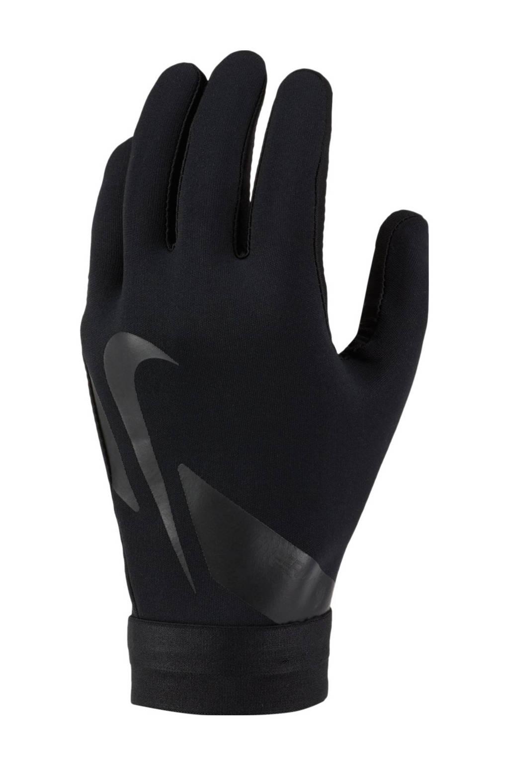 Nike Senior  voetbalhandschoenen Academy Hyperwarm zwart, Zwart
