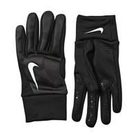 Nike Senior  sporthandschoenen Hyperwarm Fieldplayer zwart/camouflage groen, Zwart/groen