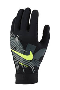 Nike Senior  sporthandschoenen Academy HyperWarm zwart/lime, Zwart/lime