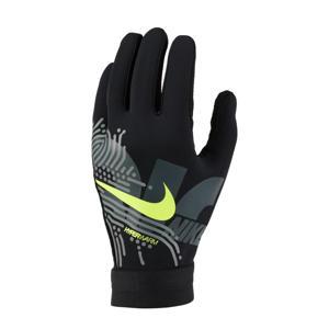 Senior  sporthandschoenen Academy HyperWarm zwart/lime
