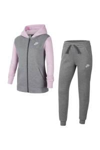 Nike   trainingspak grijs/lila, Grijs/lila