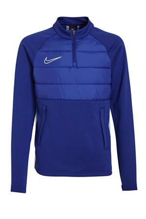 softshell sportsweater blauw