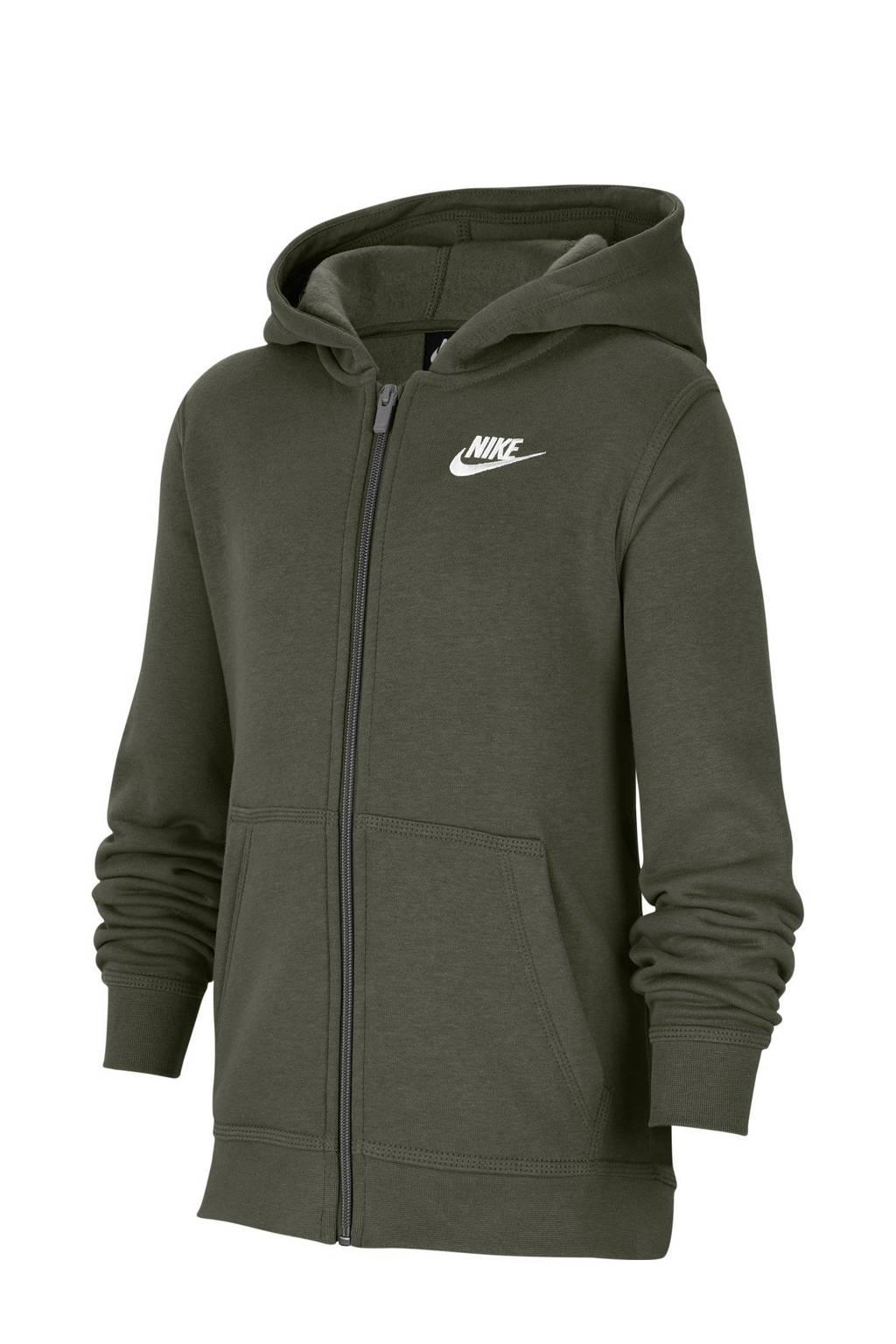 Nike vest donkergroen, Donkergroen