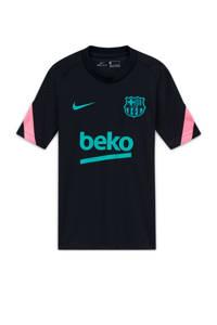 Nike Junior FC Barcelona voetbalshirt zwart/groen/roze, Zwart/groen/roze