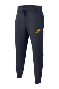 Nike joggingbroek donkerblauw/goud, Donkerblauw/goud