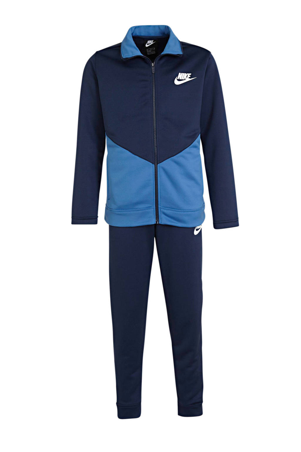Nike   trainingspak donkerblauw/blauw, Donkerblauw/blauw/wit